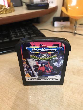 Micro Machines 2 на приставку Sega game gear