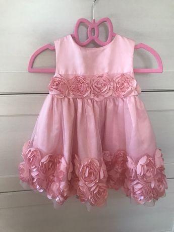 Piękna sukieneczka 74 cm