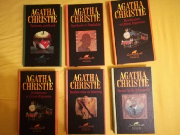 książki Agatha Christie Hachette zestaw lub na sztuki kryminał