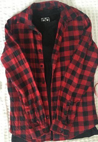 Koszula C&A rozm. S 37-38 + T-shirt Crop rozm M