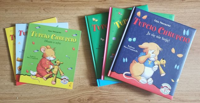 Książki Tupcio Chrupcio