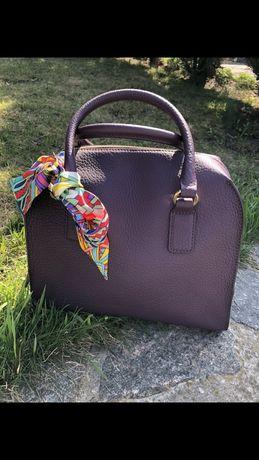 итальянская сумочка натуральная кожа