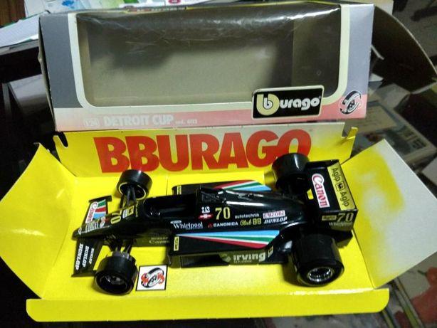 Miniatura F1 de coleção da Bburago