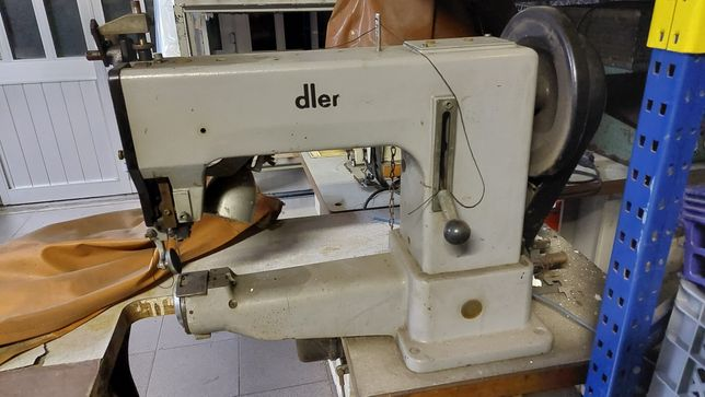 Máquina de costura para linhas muito grossas