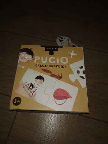 """Puzzle Pucio """"czego brakuje?"""" 2+"""