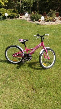 Rower trixi różowy