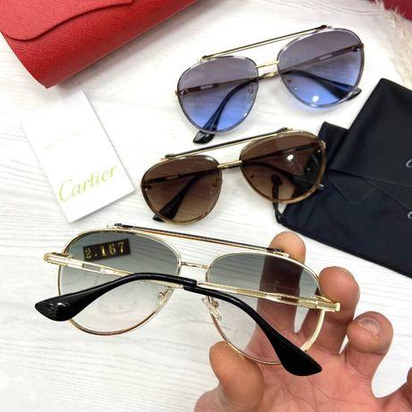 Солнцезащитные очки женские Картье 2021