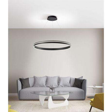 Nowość 2020 Lampa wisząca antracyt Q-VITO 8412-13 ciepłe zimne koło