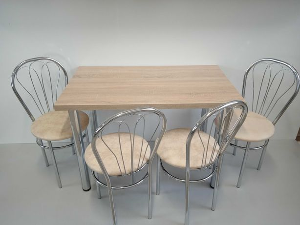 Stół kuchenny stół z krzesłami venus sonoma