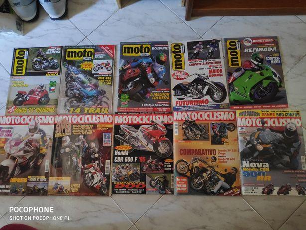 Revistas antigas de motas