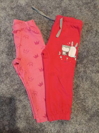 Spodnie, getry dla dziewczynki rozmiar 86