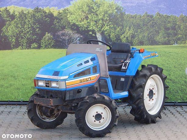 Iseki TU185  Mały traktor 4x4 ogrodniczy GWARANCJA nie ciągnik Kubota