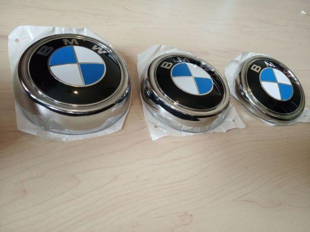 Значок эмблема капота BMW БМВ E46 E90 E39 E60 E38 E53 E65 E70 F10 Х5