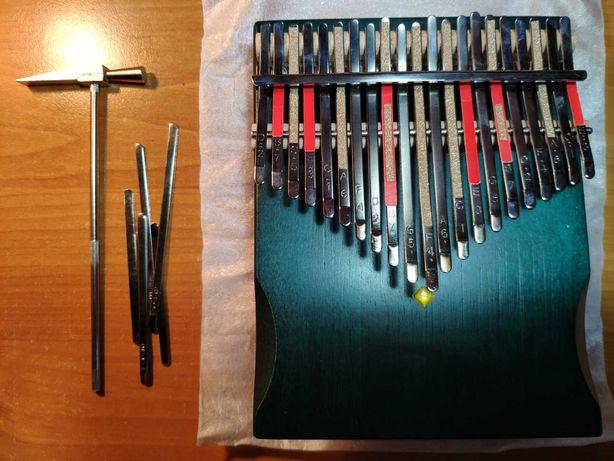 Kalimba chromatyczna dwustronna - 36 dźwięków