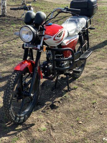 Мотоцикл Alfa (Альфа) Forte sport 125 (Увеличенный) Доставка!Гарантия!