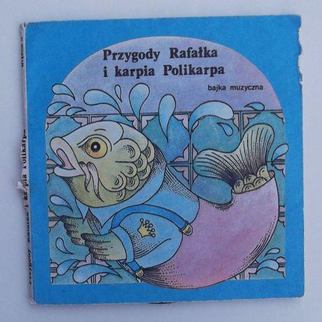 Płyta vinylowa Przygody Rafałka i karpia Polikarpa