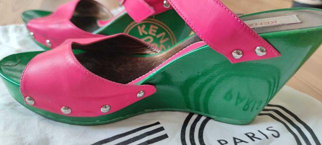 Klapki Kenzo roz. 39