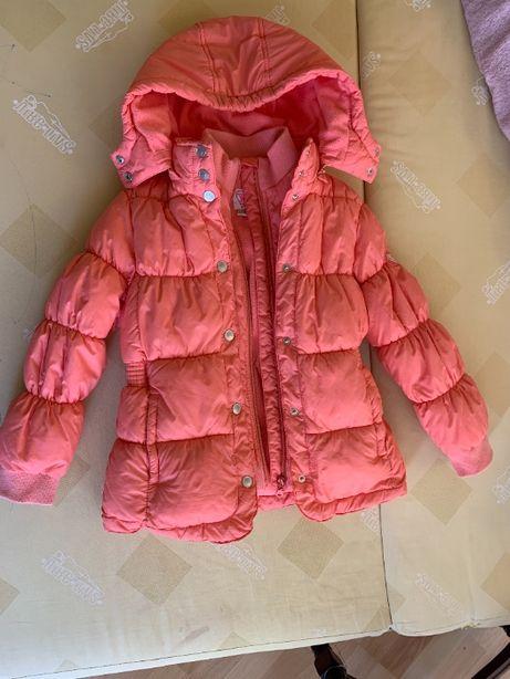 куртка девочка осень-теплая зима Чико 122