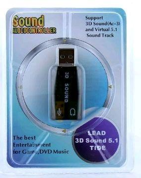 Звуковая карта USB 5.1 5CH
