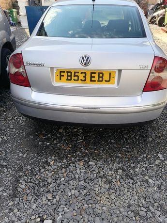 Volkswagen Passat b5 fl klapa zderzak tył sedan LA7W