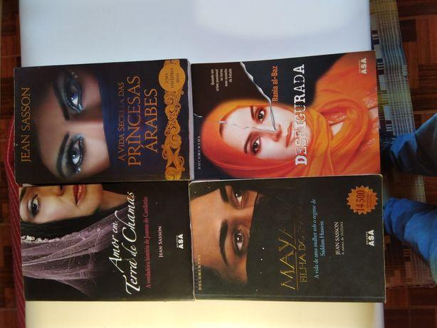 Varios livros escolha