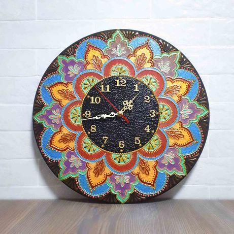Оригінальний настінний годинник ручної роботи