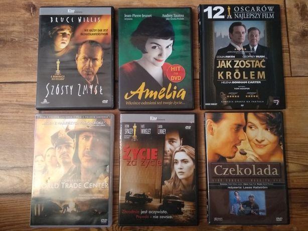 6 filmów DVD zestaw.