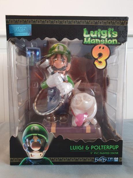 Estatueta Luigi & Polterpup