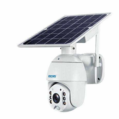 Câmara Video Vigilancia Rotativa Solar c/ Bateria 1080p Sem Fios WIFI
