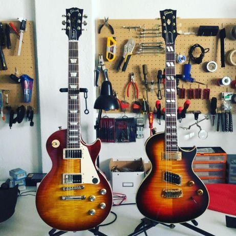 Manutenção e arranjos a Guitarras e Baixos