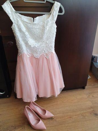 Piękna sukienka tiulowa