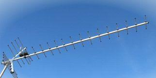 Телевизионная тв t2 антена с коэффициентом усиления 19 Дби