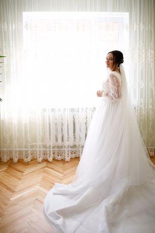 Шикарна весільна сукня трансформер (2 в 1)Boho стиль