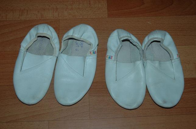 Чешки белые Pellagio (кожа)