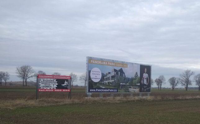 Miejsce na Reklamę Osiek DK nr5 Jelenia Góra - Wrocław 100m2