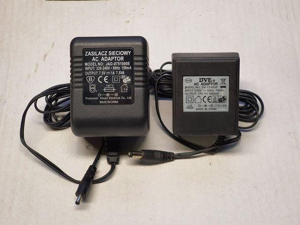 Zasilacz 12v 9v kamery POE router access point switch