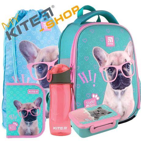 Школьный комплект 5в1  КАЙТ KITE Рюкзак сумка пенал для девочки
