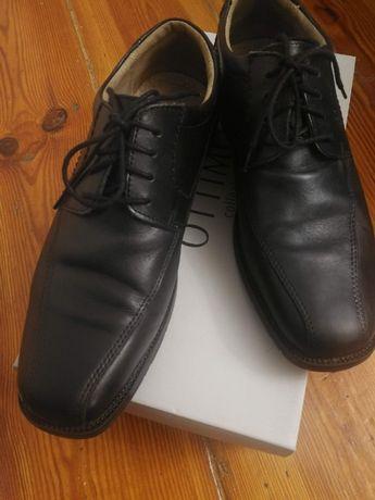 buty wyjściowe czarne męskie