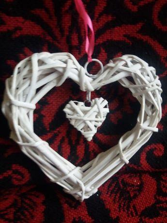 ozdoba weselna serce w sercu