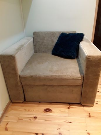 Fotel, kanapa nierozkładana