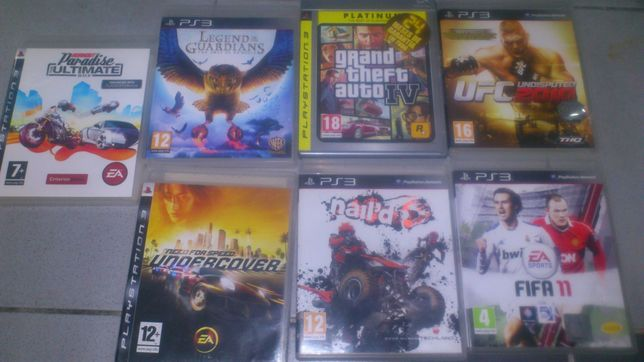 jogos ps3 para troca/venda vários