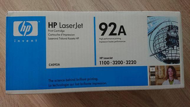 Toner laserowy HP 92A [c4092a] czarny oryginalny
