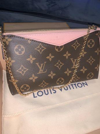 Сумка Louis Vuitton Pallas Clutch Луи Виттон клатч
