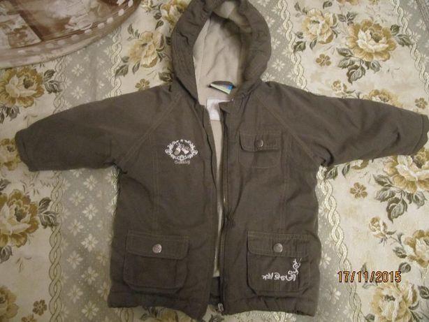 Куртка Topolino 80 р. девочке, мальчику евро зима, курточка