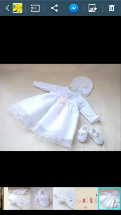 Sprzedam ubranko do chrztu.. Wyszków - image 1