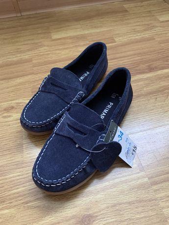 Новые кожаные туфли PRIMARK.