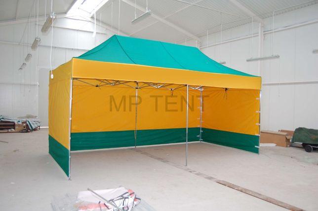 Namiot ekspresowy, ogrodowy 3x6m, CIĘŻKI STALOWY