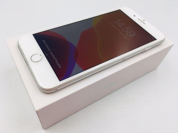 iPhone 8 PLUS 256GB SILVER • NOWA bateria • GW 1 MSC • AppleCentrum