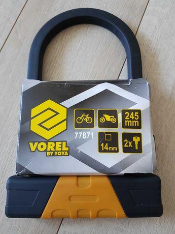 Zapięcie rowerowe typu u-lock VOREL (rower, motor)