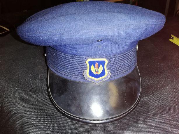 1.Czapka wojska polskiego, sowieckiego, wojenna, US AIRFORCE IN EUROPE